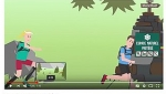 8 videos to raise awareness on outdoors sports activities jointly developed by the French Regional Natural Parks of Auvergne- Rhônes Alpes (France)