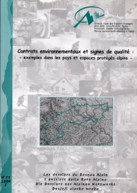 Dossier N°11 : Environmental contracts and quality measurement tools: examples from protected areas in the Alpine countries