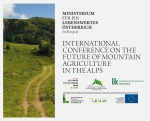 International Conference on the Future of Mountain Agriculture in the Alps on 13th-14th September 2017